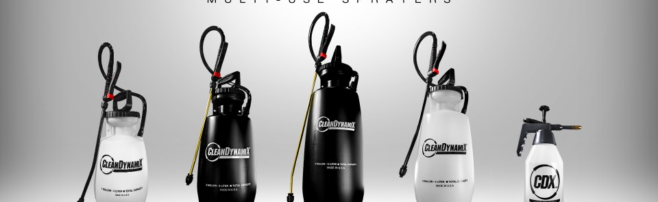 Introducing CleanDynamix Sprayers