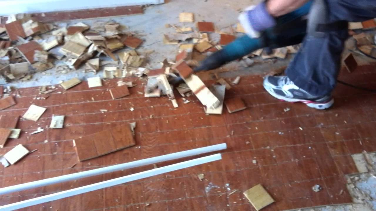 Tired of Hardwood Floor Tear-Outs?
