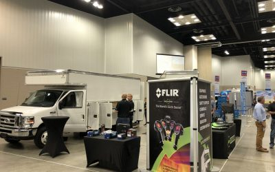 NSN New Source Network Booth at Contractor's Connection!  Showing off the Restoration Truck