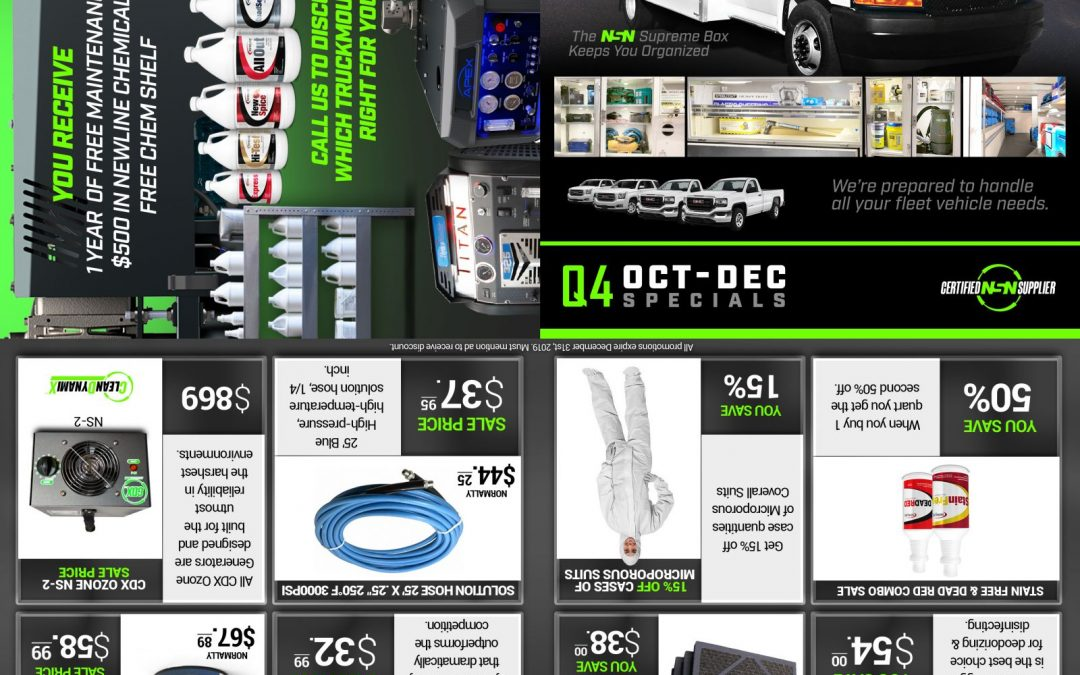 4th Quarter Mailer Specials Are Here!  Click To View Mailer Here