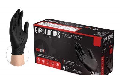 New Black Nitrile Gloves Now In Stock!